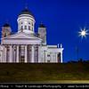 Finland - Finland - Helsinki - Helsingfors - The Tuomiokirkko (L