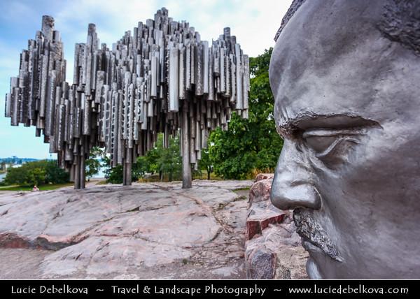 Finland - Helsinki - Helsingfors - Sibelius Memorial Monument  - Designed by Eila Hiltunen Architect