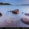 Finland - Helsinki - Helsingfors - Stones on Shores of Baltic Se