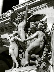 Detail Opéra Garnier , Paris France