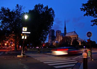Notre Dame Cathedral  Paris, France
