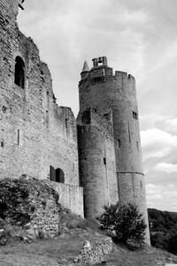 Najac Castle, Aveyron