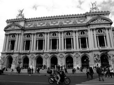 Opéra Garnier , Paris France