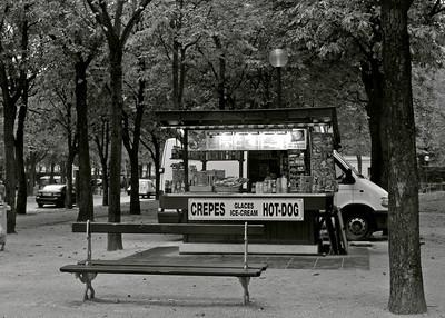Crepes, Paris France