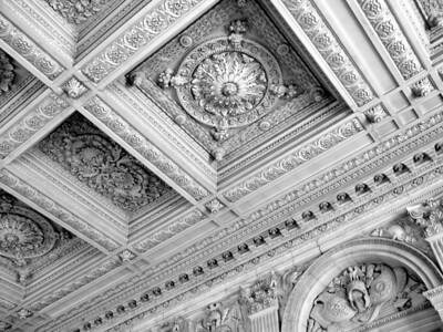 Ceiling panel at Versailles  Paris, France