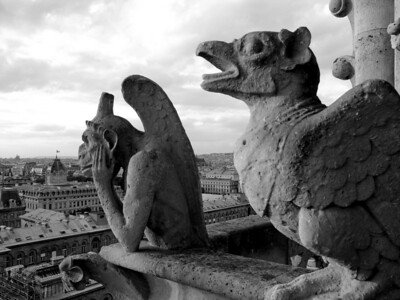 Gargoyles, Paris France