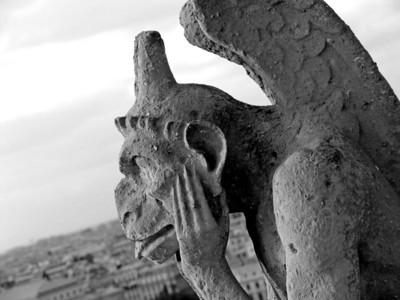 Notre Dame Gargoyle, Paris France