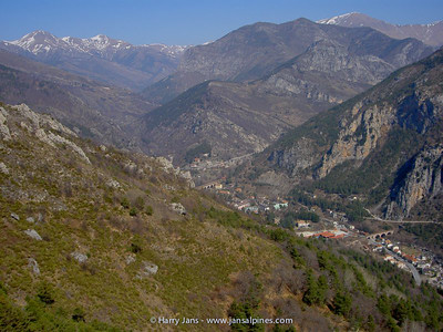 St. Dalmas-de-Tende in the valley