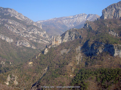 view towards Col  de Tende, 1873m