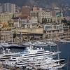 Port de Monaco, always with nice schips!