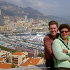 Harry & Hannie near Port de Monaco