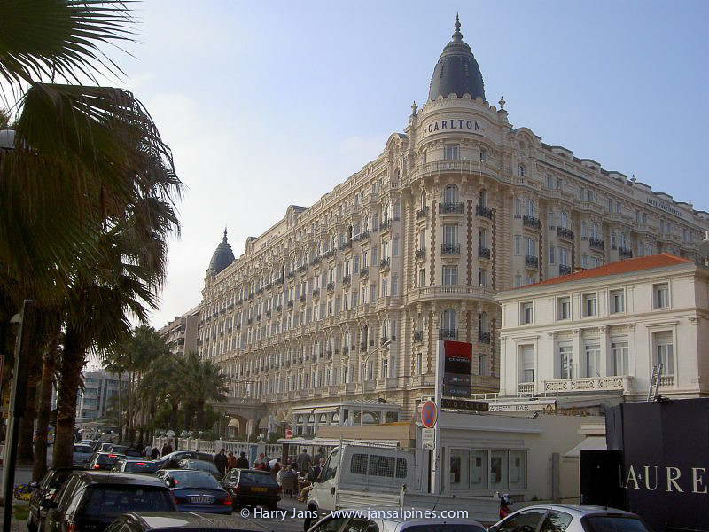 Carlton Hotel in Cannes