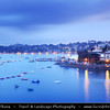 "Europe - France - Bretagne - Brittany - Côte d'Émeraude - Dinard - Elegant seaside resort with unspoiled ""Roaring 20s"" charm where splendid aristocratic villas bear witness to a prestigious past history on shores of Atlantic Ocean"