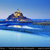 Europe - France - Normandy - Mont Saint-Michel - Saint Michael's Mount - UNESCO World Heritage Site - One of France's most recognisable landmarks