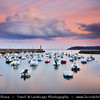 Europe - France - Bretagne - Brittany - Côtes-d'Armor - Binic - Harbour town on shores of Atlantic Ocean