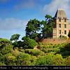 "Europe - France - Bretagne - Brittany - Côte d'Émeraude - Dinard - Elegant seaside resort with unspoiled ""Roaring 20s"" charm where splendid aristocratic villas bear witness to a prestigious past history on shores of Atlantic Ocean"