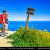 Europe - France - Corsica Island - Corse - Haute-Corse - Corsican North Coast on shores of Mediterranean Sea - Hinterland of Calvi - Mountain villages