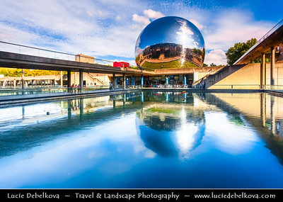 Europe - France - Paris - Capital City on Seine river - Villette