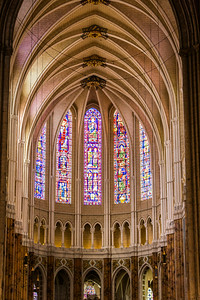 Cathedral of our Lady of Chartres, France, July, 2012