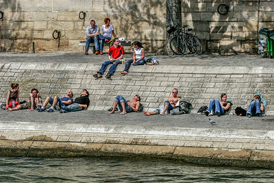 Along the Seine