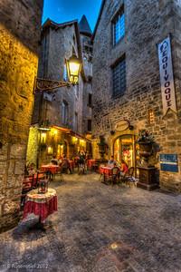 Al Fresco Dining, Sarlat, France, 2012