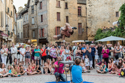 The Entertainer, Sarlat, France, 2012