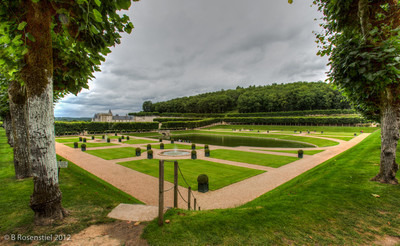 Villandry, Loire Valley, France, 2012