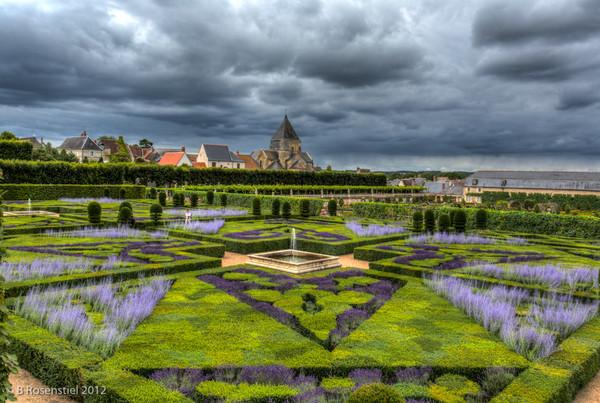 Villandry, Loire Valley, France, 2012