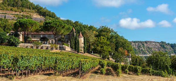 Chateau Caix, Lot Valley, France, 2016