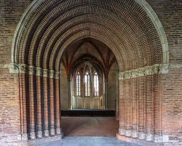 Church of the Jacobins, Toulouse, France, 2016