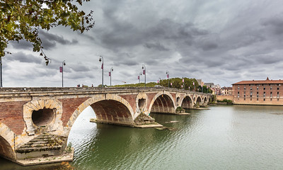 Pont Neuf, Toulouse, France, 2016