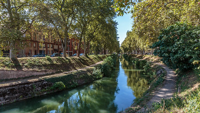 Canal de Brienne, Toulouse, France, 2016