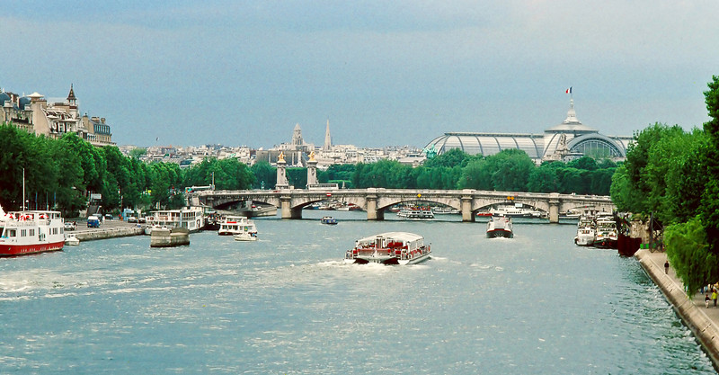 """The Seine, the Seine; when will I again?"""