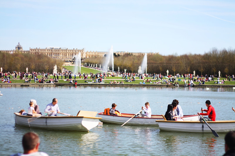 Versailles. April 2013