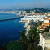 Beautiful coast of Nice in Summer.