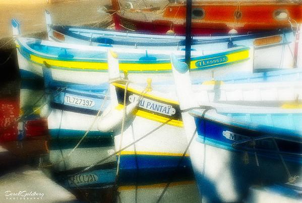 Row Boats #1 - Sanary-Sur-Mer, France