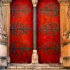Medieval Church Door - Aix-en-Provence, France