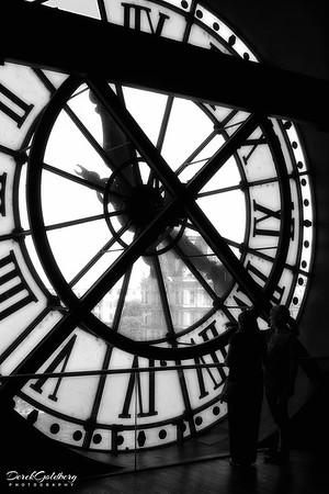 Musee d'Orsay Clock Window #1 - Paris, France