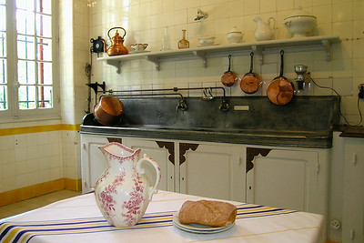 Cambo-les-Bains - Villa Arnaga's Kitchen