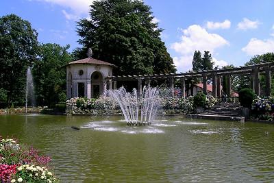 Cambo-les-Bains - Villa Arnaga's Fountain