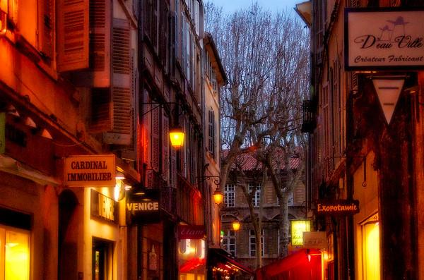 Street Scene #12 - Aix en Provence, France