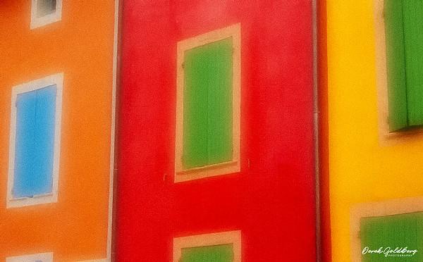 Multi-Colored Windows - Les Baux-en-Provence, France
