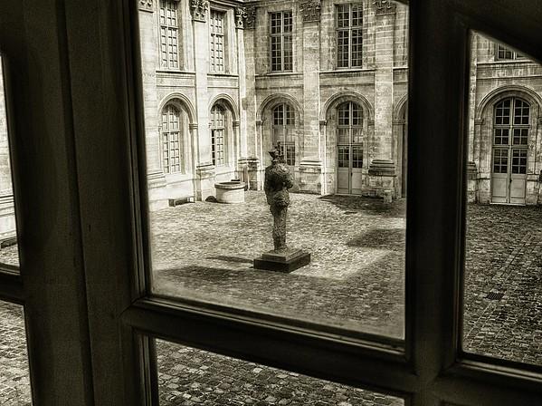 Picasso Museum Courtyard #1s - Paris, France