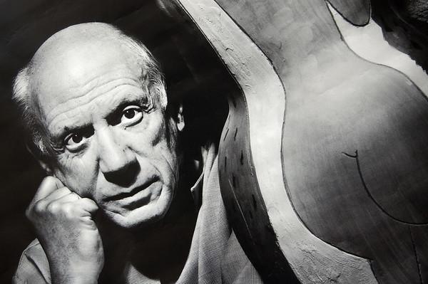 Pablo Picasso Portrait, Picasso Museum - Antibes, France