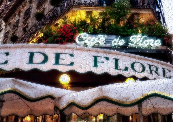 Paris Cafe #1 Abstract - Paris, France