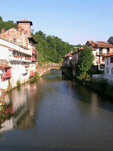 St.Jean Pied de Port - Bridge over the River Nive