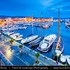 Europe - France - Provence-Alpes-Côte d'Azur Region - Parc National des Calanques - Calanques National Park - La Ciotat - Vieux Port - Coastal town on shores of  Mediterranean Sea
