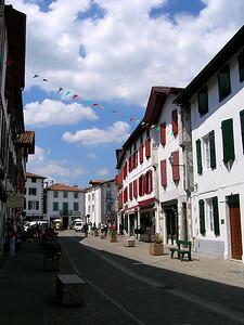 Espelette - Village Street