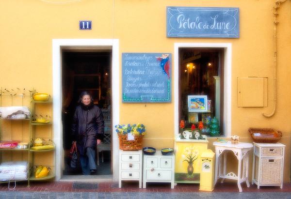 Shop Facade - Sanary-Sur-Mer, Provence, France