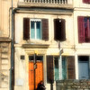 Man In Front of Building - Provence, France
